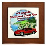 4th Annual California Coast R Framed Tile