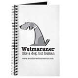 Funny Weimaraner Journal