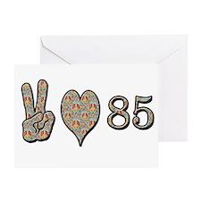 Cute Happy 85th birthday Greeting Card