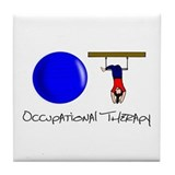 O and T Tile Coaster