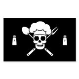 Chef Pirate Decal