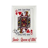 Queen of Hearts magnet 2
