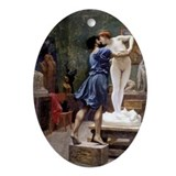 Pygmalion & Galatea Oval Ornament