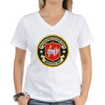 Philadelphia Housing PD Narc Women's V-Neck T-Shir