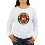 Philadelphia Housing PD Narc Women's Long Sleeve T