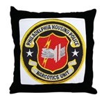 Philadelphia Housing PD Narc Throw Pillow