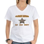 Colorado Rangers San Juan Women's V-Neck T-Shirt