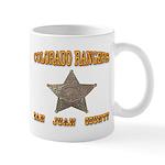 Colorado Rangers San Juan Mug