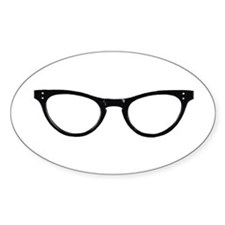 Librarian Glasses Decal