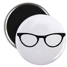 "Librarian Glasses 2.25"" Magnet (10 pack)"