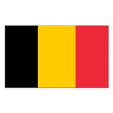 Belgian Flag Decal