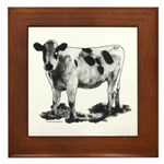 Spotted Cow Framed Tile