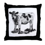 Spotted Cow Throw Pillow