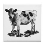 Spotted Cow Tile Coaster