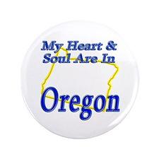 """Heart & Soul - Oregon 3.5"""" Button (100 pack)"""