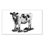 Spotted Cow Sticker (Rectangle 10 pk)