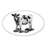 Spotted Cow Sticker (Oval 50 pk)