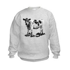 Spotted Cow Kids Sweatshirt