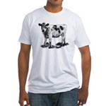 Spotted Cow Fitted T-Shirt