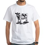 Spotted Cow White T-Shirt