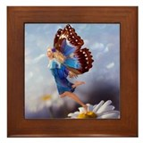 Fairy Butterfly Framed Tile