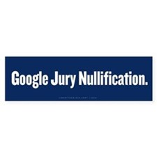 Google Nullification Bumper Sticker