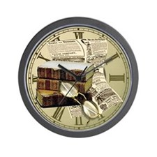 Reading Design Wall Clock