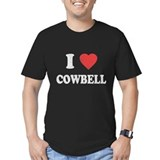 I Love [Heart] Cowbell T