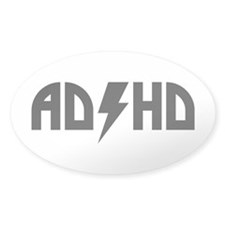 ADHD Rock Decal