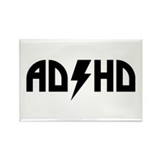 ADHD Rock Rectangle Magnet