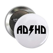 "ADHD Rock 2.25"" Button"