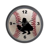 Baseball icatch Wall Clock