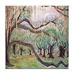 Oak Trees at City PArk Tile Coaster