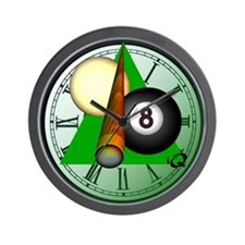 Eight Ball Gifts Wall Clock
