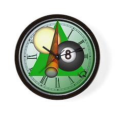 Eight Ball Gifts Wall Clock