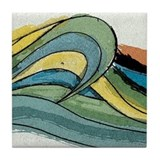 Waves by Joe Monica Tile Coaster