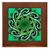 CELTIC KNOTWORK Framed Tile