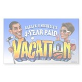 Barack and Michelle Obama's Vacation Decal