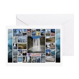 Cute Maine lighthouses Greeting Card