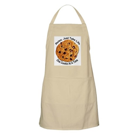 """One Cookie"" BBQ Apron"