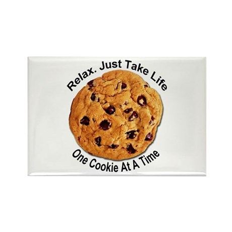 &amp;quot;One Cookie&amp;quot; Rectangle Magnet