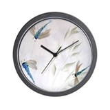 """Dragonfly Dance"" Wall Clock"