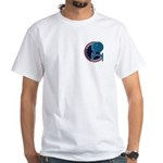Enterprise Mission Patch (small) White T-Shirt