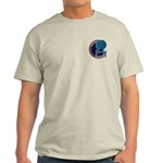 Enterprise Mission Patch (small) Light T-Shirt