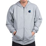 Enterprise Mission Patch (small) Zip Hoodie