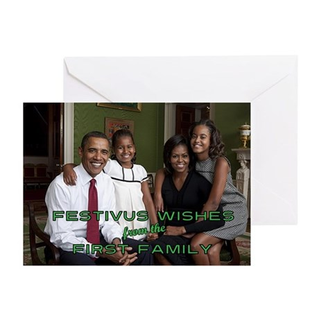 """A First Family Festivus"" Cards (Pkg. of"