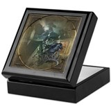 Gothic Black Crow Keepsake Box