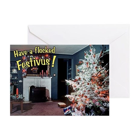 Have a Flocked Festivus Cards (Pk of 10)