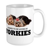 Blessed By Yorkies Coffee Mug