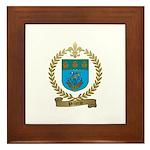PELLERIN Family Crest Framed Tile
